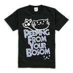 Tシャツ:PEEPING CAT
