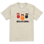 Tシャツ NECO-RYOSHKA