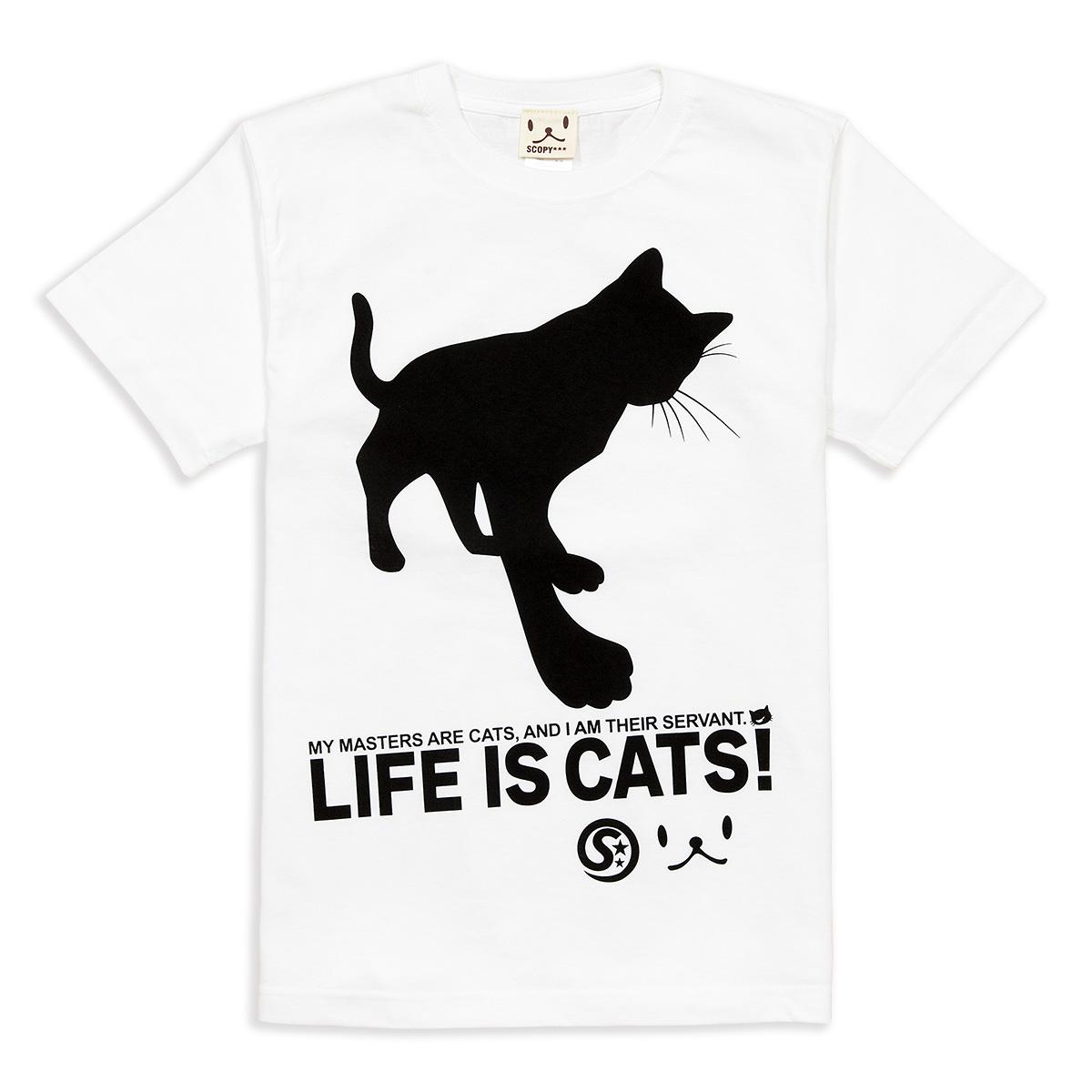 Tシャツ CAT'S SERVANT ホワイト