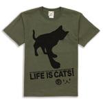 Tシャツ:CAT'S SERVANT