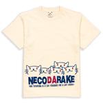 Tシャツ:NECODARAKE