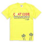 Tシャツ:CAT CODE