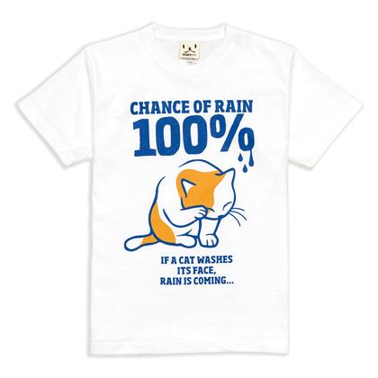 迪ォ繧ー繝�繧コ T繧キ繝」繝� RAIN 100%