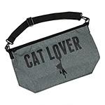 メッセンジャーバッグ:CAT LOVER