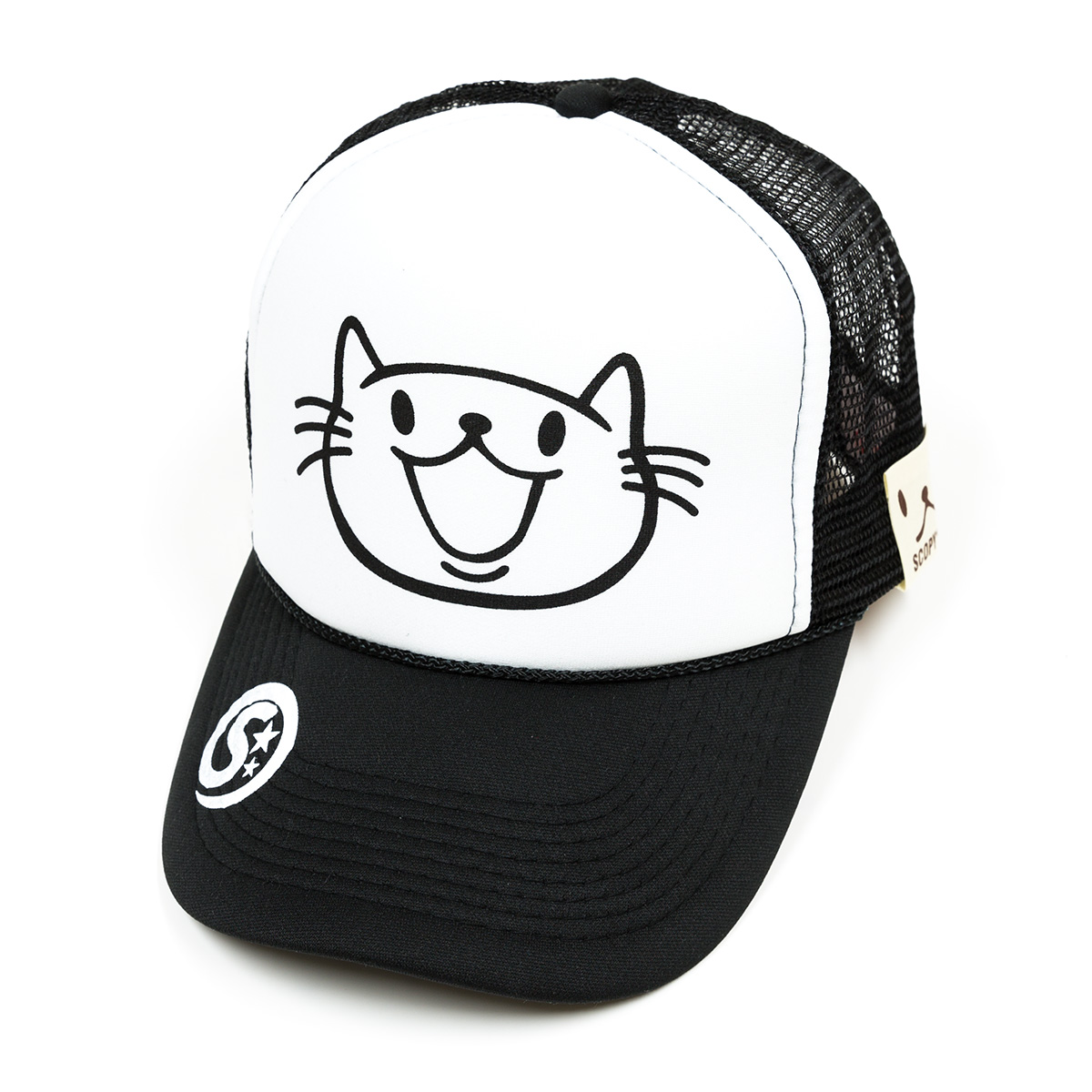 メッシュキャップ:SMILE CAT