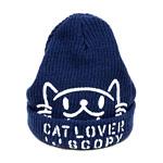 ニットキャップ CAT LOVER