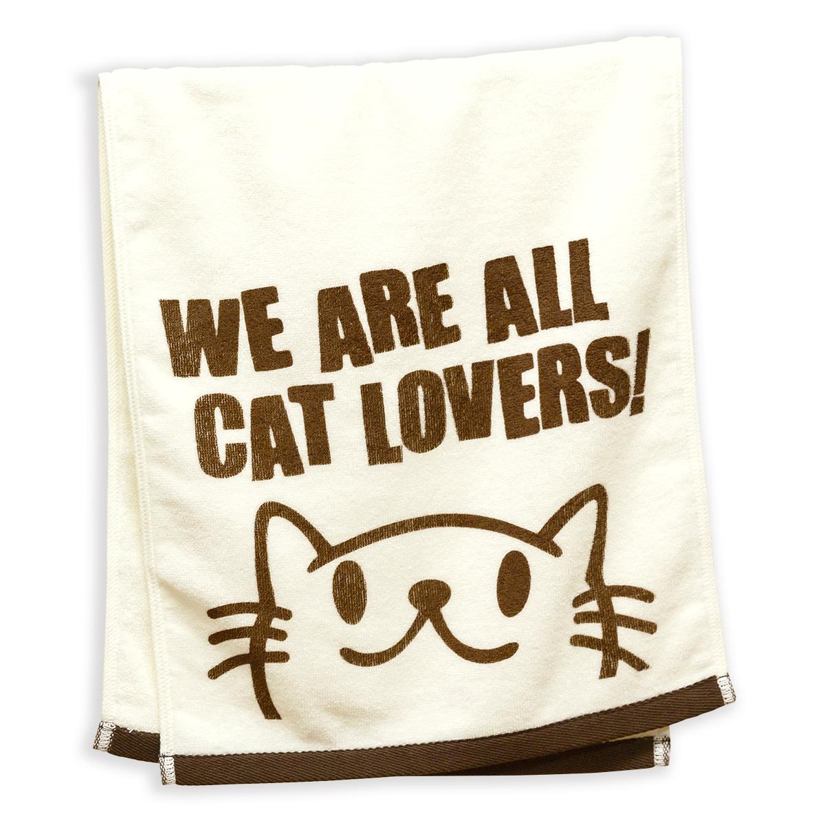 フェイスタオル CAT LOVERS