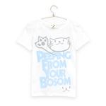 Tシャツ PEEPING CAT