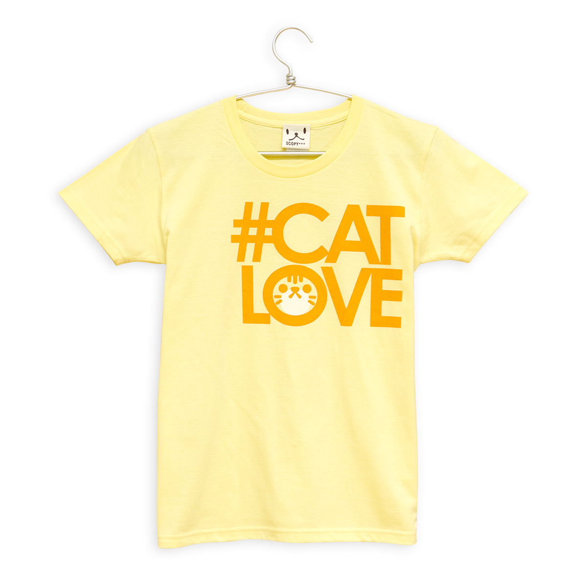 レディースTシャツ #CATLOVE チャトラ